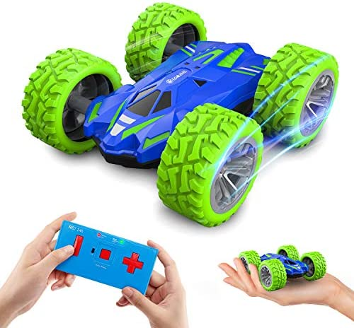 Mini RC Car for Kids and Adults EACHINE EC07 Micro RC Cars Double Sided Fast Off Road Stunt product image