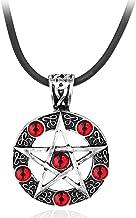 BZM Bovennatuurlijke Zwarte Butler Evil Force Pentagram Hanger Ketting Sifa Satan Heks Amulet Ketting Touw Ketting Gift Me...
