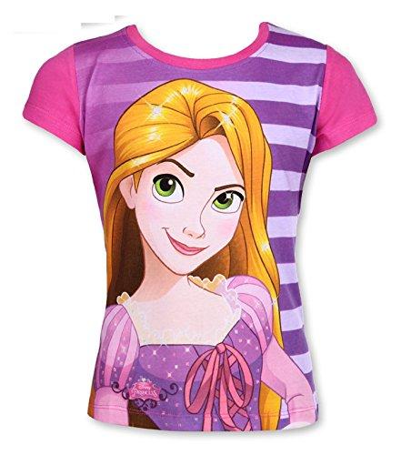 Disney Rapunzel Mädchen-T-Shirt, Pink, Größe 2, 3, 4, 5 und 6 Jahre Gr. 3 Jahre, rose