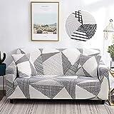 WXQY Conjunto de sofás Flexible, Funda de sofá Universal a Prueba de Polvo Todo Incluido, sillón de salón, Funda de sofá de Esquina y Chaise Longue A26 1 Plaza