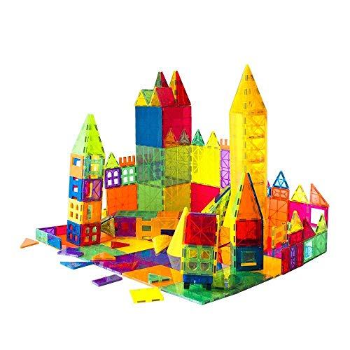 of raid pool cues dec 2021 theres one clear winner Mag-Genius Award Winning Building Magnet Tiles Toy Clear Colors 3D Brain Building Blocks Set with All New Cylinder Design True 3D Building Blocks 141 + 2 Bonus Piece Set with Bonus Storage Bin