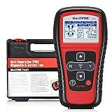 autel maxitpms ts401, nuovo strumento di diagnostica auto tpms per il sistema di monitoraggio della pressione pneumatici con copertura del sensore senza precedenti (ts401)