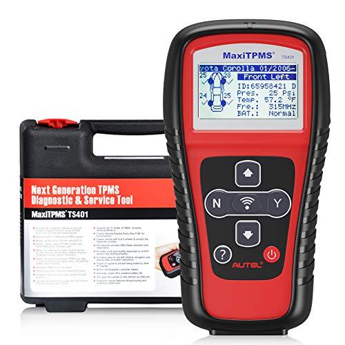 Autel TS401 RDKS-Anlerngerät TPMS-Programmiergerät Reifendruckkontrollsystem Anlernwerkzeug für Autel Reifendrucksensor, Relearn Auslesen OE-RDKS Sensor, Deutsch verfügbar