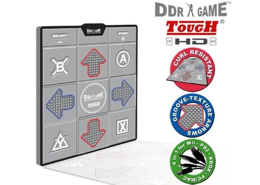 掃除枕マーティフィールディングPS/PS2/Xbox/USB/GC/Wii Tough HD Deluxe Universal Dance Pad (輸入版)
