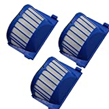 Anboo 3pcs Aero Vac Filter Compatible For iRobot Roomba 500 600 Series 536,550,551,552,564, 585, 595, 600,620, 650 Replacements AeroVac Vacuum Cleaner Accessory