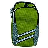 Brazalete Movil Running Deportivo, Funda Porta Movil Portamoviles para Correr Gimnasio Deporte,para iPhone 11 Pro MAX/XR/XS Max/X/8/7 Plus,Huawei P30 Mate 30,XIAOMI (Green)