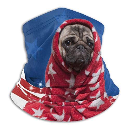 shenguang, polaina para el cuello, máscara facial, Basebell, bandera de EE. UU, pasamontañas, bandana, a prueba de polvo, corte UV, calentador de cuello ajustable para hombres y mujeres