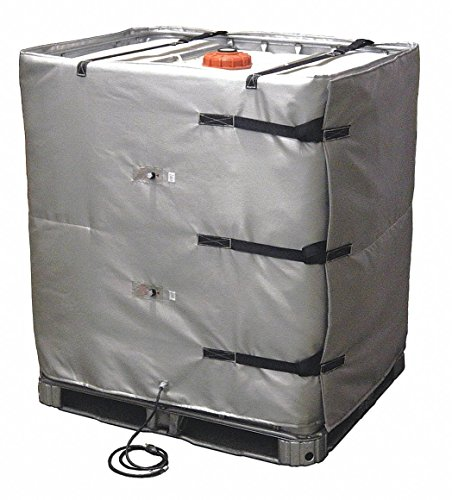 New BriskHeat IBC/Tote Tank Heater - 120 Volts, 48in.H, Model Number TOTE481-ADJ