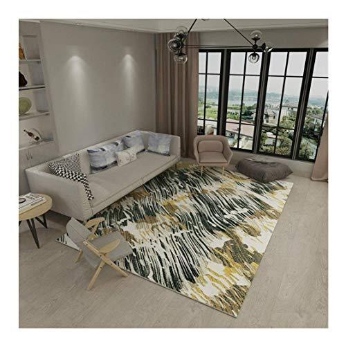 GEDTFC Tapis rectangulaire de simplicité Simple Salon Abstrait Chambre à Coucher complète Table de thé de Chevet Tapis Yoga Mat (Size : 160CM×230CM)