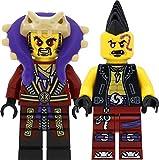 LEGO Ninjago - Juego de minifiguras con el maestro Chen y el general ojos piratas (Eyezor)