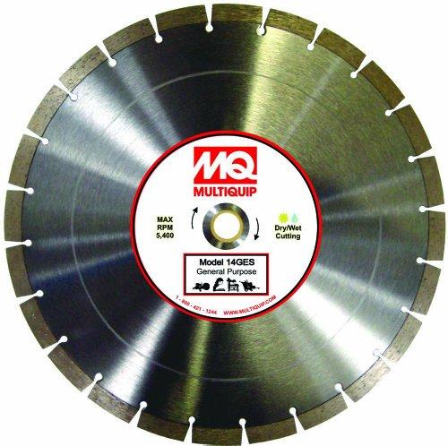 Multiquip 6GES Economy Laserweld Segmented Diamond Blade, 6-Inch x 0.095-Inch -  Added brand IRWIA.