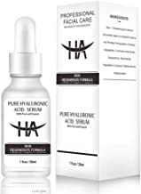 Hyaluronic Acid Skin Serum Body 100% Pure Organic for Face