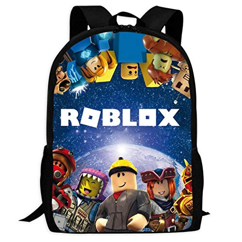 BYD-47 Roblox 3D Print Backpacks Children Shoulder Bag Rucksack Back to School