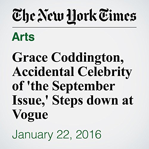 Grace Coddington, Accidental Celebrity of 'the September Issue,' Steps down at Vogue cover art