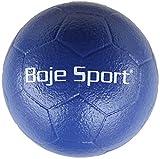 Boje Sport Soft-Fußball mit Elefantenhaut, Größe 3, Ø 19 cm Gewicht ca. 300 g, Farbe: blau
