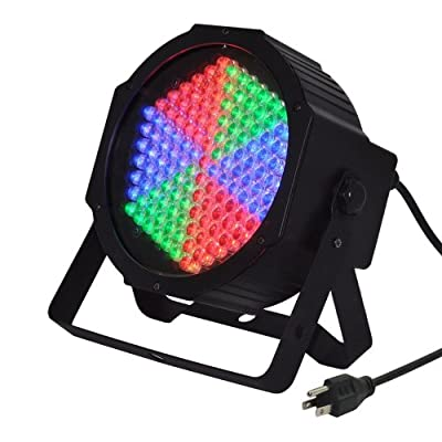 127 LEDs DMX512 Super Par RGB LED Stage Lighting, Best Choice For Wedding Concert Party Birthday Pub Show DJ Music Par Can