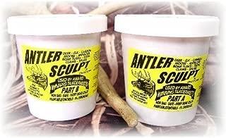 Antler Sculpt Epoxy - 3 Pound Unit - 2 Pints - Antler Art - Cir-Cut Corporation - Restore Your Trophy To Its Original Glory ! Deer - Elk - Claws - Teeth - Horns - Antlers