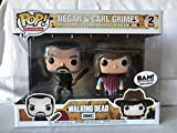 Funko - Figura Pop elaborada en Vinilo, The Walking Dead, Pack Doble con Negan y Carl Grimes, 21534 ...