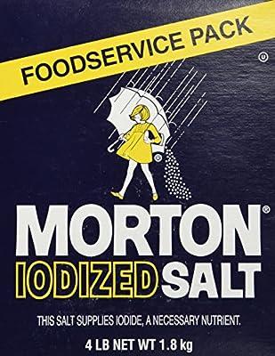 Morton Iodized Table Salt - 4lb.