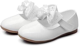 [ヴィンモリ] キッズシューズ フォーマルシューズ フラット 滑り止め パンプス 女の子 子供 シューズ 卒業式 卒園式 お受験 マット 靴 結婚式 入学式 発表会 七五三13.5cm-18.5cm
