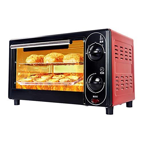 Multifunctionele 12L elektrische oven, huishoudbrood Cake bakken Kleine oven Timing Transportband Pizza Ovens Keukenapparatuur Bakkerij