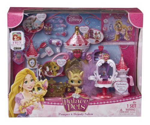 Disney Princess Palace Pets Pamper and Beauty Salon Play Set