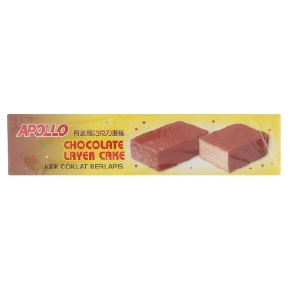 Apollo Layer National products Cake Large special price !! 18g Convi-Packs Chocolate 40 628MART
