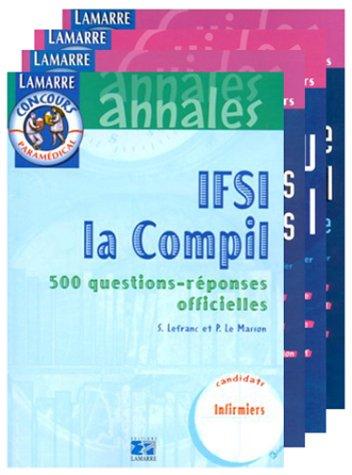 Entrée libre en IFSI Pack 4 volumes : La culture générale en...