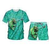 Sistema de Ropa de Moda para Hombres/Mujer Moda + Pantalones Sillas de 2 Piezas XXL
