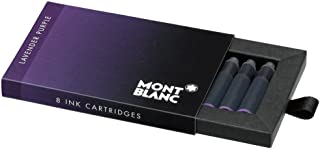 Mont Blanc Ink Cartridges, Lavender Purple (105197)