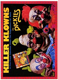 27 x 40 Killer Klowns From Outer Space Movie Poster