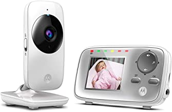 Motorola MBP 482 - Vigilabebés vídeo con pantalla LCD a