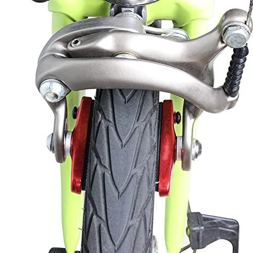 2 Pairs Bike Brakes Pads Set,Universal V-brake Brake Pads,wear-resistant Replaceable Drawer Type Aluminum/carbon Fiber Rim C-clamp Brake Rubber Block,V Brake Blocks For Various Types Of Bicycle