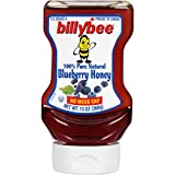 Billy Bee Honey Liquid Blueberry Upside Down, 13 OZ