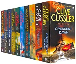 Clive Cussler Collection 6 Books Set New RRP: £ 55.93 (Mayday!, Night Probe!, Raise the Titanic, Vixen O3, Pacific Vortex!...