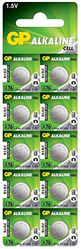 GP Ultra 10 x LR44 Alkaline Cell Batteries