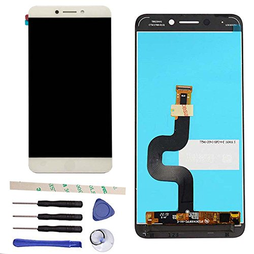 LCD Display Touch Screen Digitizer Assembly Replacement for Letv LeEco Le S3 X 622 X626 X 522 X532 (White)
