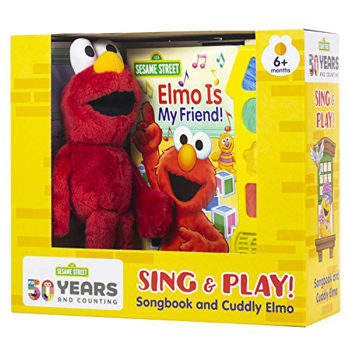 Sesame Street - Elmo is My Friend! - Sing & Play! Song Sound Book and Elmo Plush - PI Kids