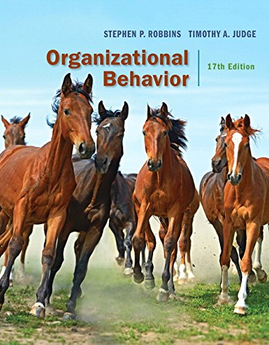 Organizational Behavior (17th Edition) - Standalone book