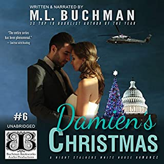 Damien's Christmas audiobook cover art