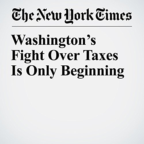 Washington's Fight Over Taxes Is Only Beginning copertina