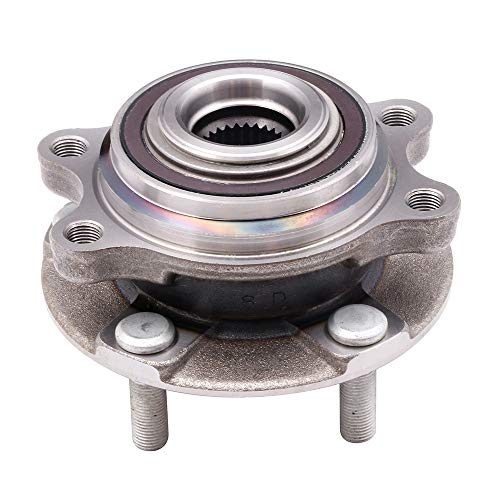 SCITOO Wheel Hub and Bearing Assemblies OE 513295 for for NISSAN Altima 2007-2011 Axle Hub Assembly 5 Bolts W/ABS