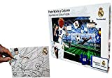 Kick Off Real Madrid Puzzle Monta Y COLOREA 40 Piezas