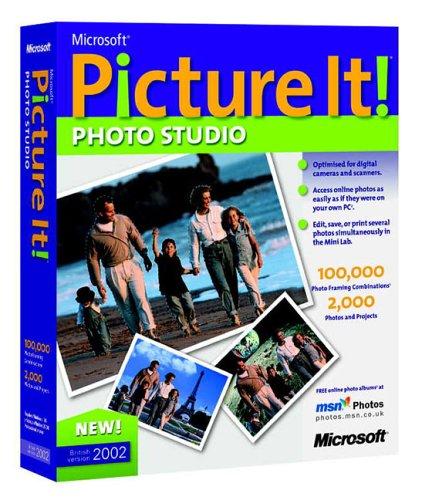 Microsoft Picture It Premium 2002 CD