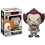 Funko Pop Movie - IT Pennywise with Boat (Chase) #472 Vinyl 3.75inch Figure Movie Derivatives for Bo...