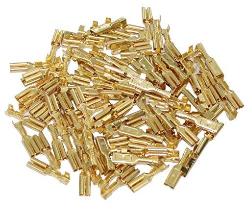 AERZETIX: 100 X Kabelschuhe männlich flach 2,8 mm 0,5 – 1 mm2 C41301