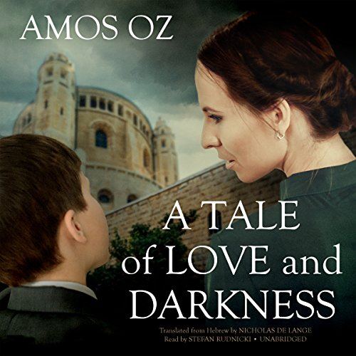 A Tale of Love and Darkness audiobook cover art