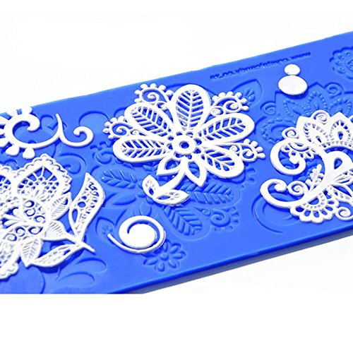 Bebe Silicone Lace Mat by Crystal Candy