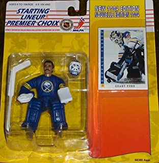Starting Lineup Sports Superstar Collectibles First Year Edition 1994 - Special Card Included - Buffalo Sabres Grant Fuhr