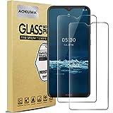 AOKUMA für Nokia 5.3/Nokia 2.4 Panzerglas, 【2 Stücke】